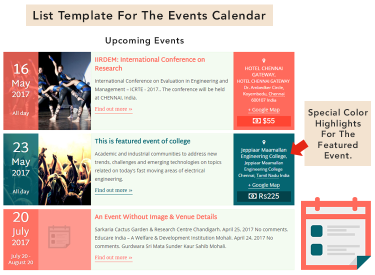 Documentation - Pro Templates For The Events Calendar